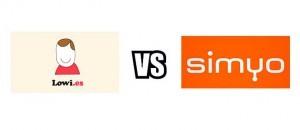 Comparación tarifa Simyo contra Lowi